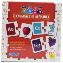 Educational Cards - The Alphabet - 60 Pcs