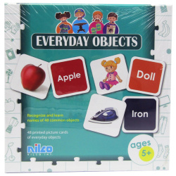 Educational Cards - Everyday Objects - 48 Pcs