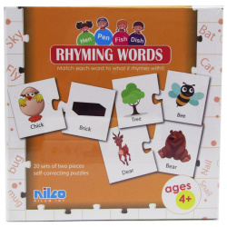 Educational Cards - Rhyming Words - 40 Pcs