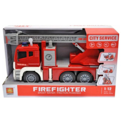 City Service 1:12 with Lights & Sounds - Fire Fighter Shoot