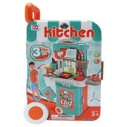 Kitchen Chef Cook 3 In 1 Trolley Bag - Orange