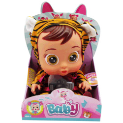 Cry Babies Doll - Tiger
