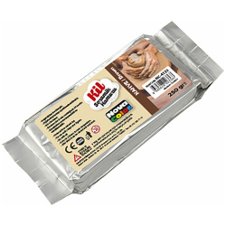 Ceramic Clay Dough - 250 Gr - Brown
