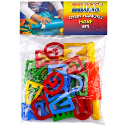 Brons Modeling Clay Tool Set - Letters