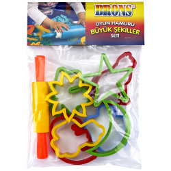 Brons Modeling Clay Tool Set - Shapes