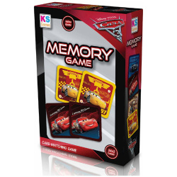 Cars Memory Games - 48 Pieces
