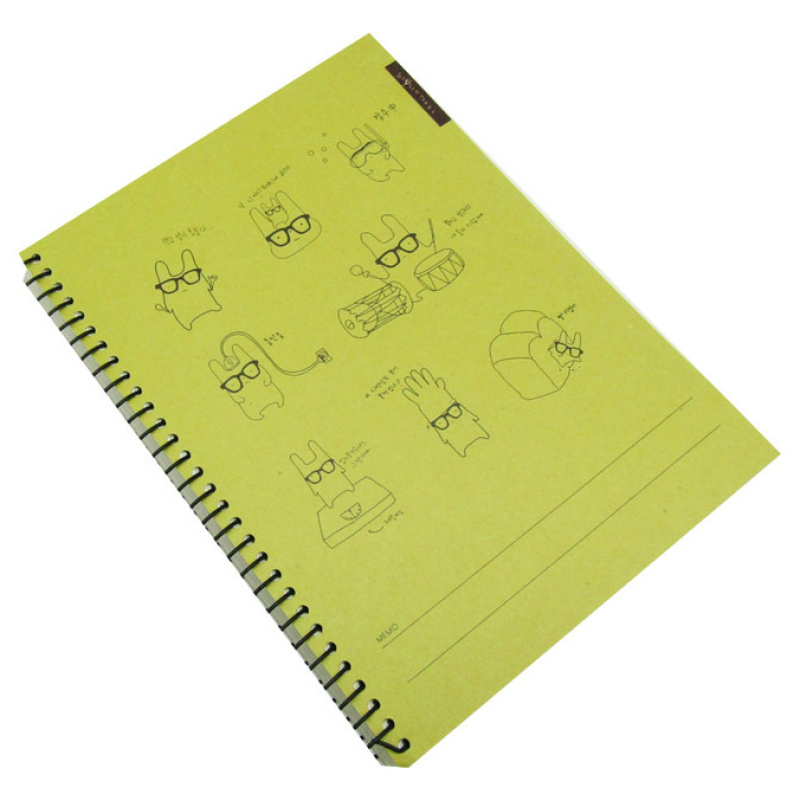 Wire Notebook - Simsim Tokki