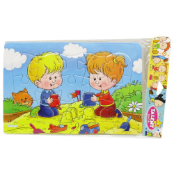 Medium Cartoon Puzzle - Play WithSand