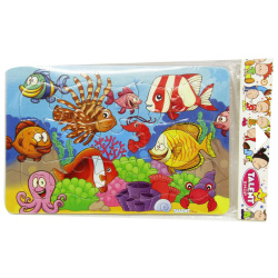 Medium Cartoon Puzzle - Under The Sea