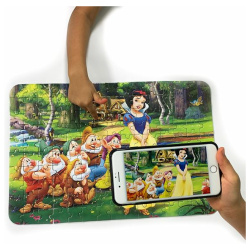 Puzzle Cartoon Board - Snow White