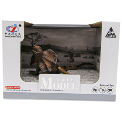 Model Series Animal Set - Brown Reptile