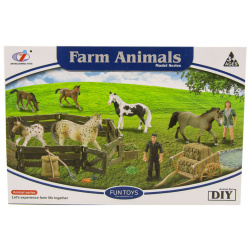 Farm Animal Model Series For Boys
