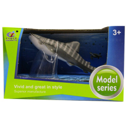 Model Series Animal Set - Gray Striped Shark