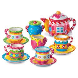 Paint Your Own Mini Tea Set
