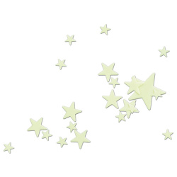 Glow in the Dark Stars - 16 Pcs