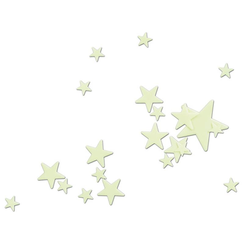 Glow in the Dark Stars - 16 Pcs