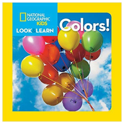 National Geographic Book - Colors