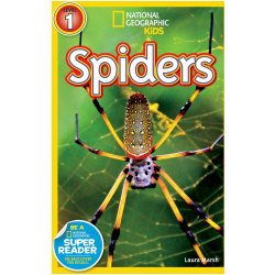 National Geographic Book - Spiders