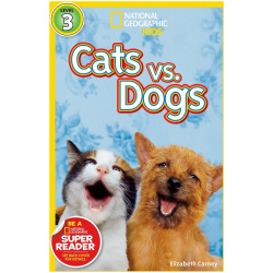 National Geographic Book - Cats vs. Dogs