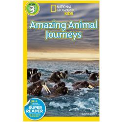 National Geographic Book - Amazing Animal Journeys