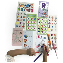 Educationl Puzzle Cards - Letters