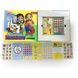 Educationl Puzzle Cards - Numbers