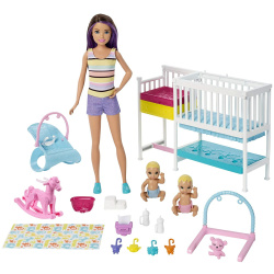 Barbie Nursury Play Set