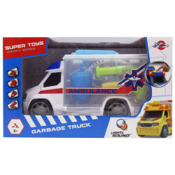Garbage Truck With Light & Sound - Ambulance