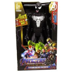 Avengers Titan Hero Series  - Black Spiderman