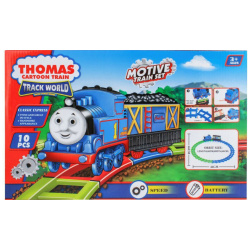 Thomas Cartoon Train Track World -10 PCS