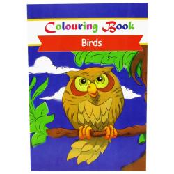 Coloring Book - Birds