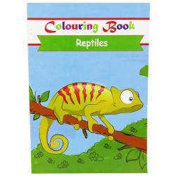 Coloring Book - Reptiles
