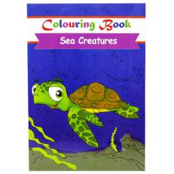 Coloring Book - Sea Creatures