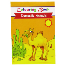 Coloring Book - Domestic Animals