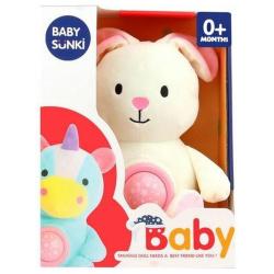 Soft Plush Goodnight Lullaby - White Rabbit