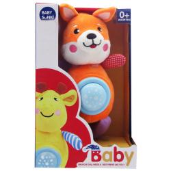 Soft Plush Goodnight Lullaby - Orange Rabbit