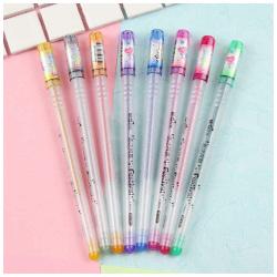 8 Festival Glitter Pens