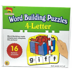 Word Building Puzzle 4 Letter
