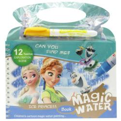 Coloring Magic Book - Frozen