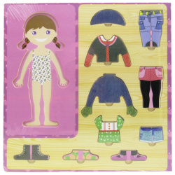 Girl Clothes Puzzle