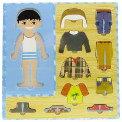 Boy Clothes Puzzle