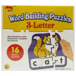 Word Building Puzzle 3 Letter