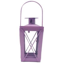 Metal Lantern With Candle Holder - Random Color