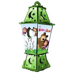 Wood Lantern With Sound & Light - Masha & The Bear