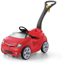 Easy Steer Sportster Ride On - Red
