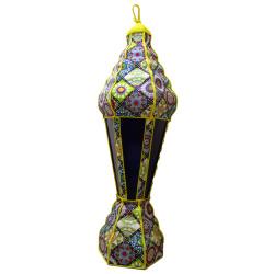 Ramadan Decoration - Tower lantern - Yellow
