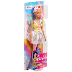 Barbie Fairy Doll With Wings - Yellow Dress