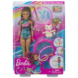Barbie Gymnast Doll - Brown Hair