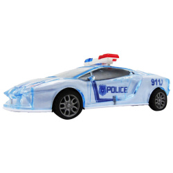 Press And Go Toys - Police Car
