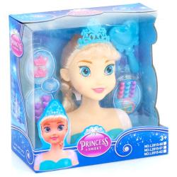 Head Doll With Hair Accessories - Anna